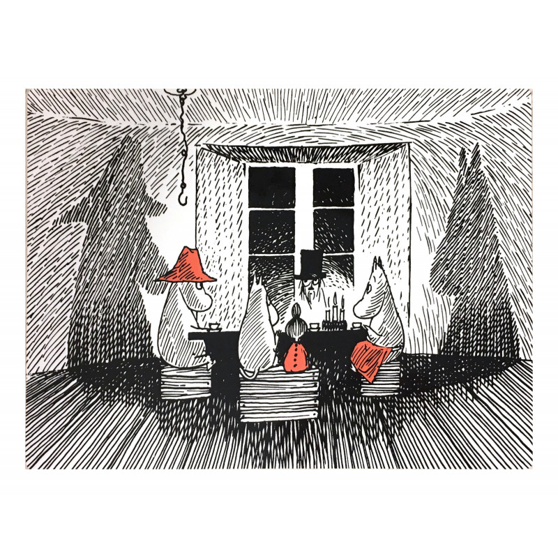 Moomin Placemat Together 40 x 30 cm