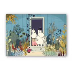 Moomin Placemat Riviera Doorstep 40 x 30 cm