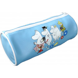 Moomin Pencilcase Tube Blue...