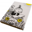 Moomin Hardcover Notebook Little My Reading 224 Lined Pages
