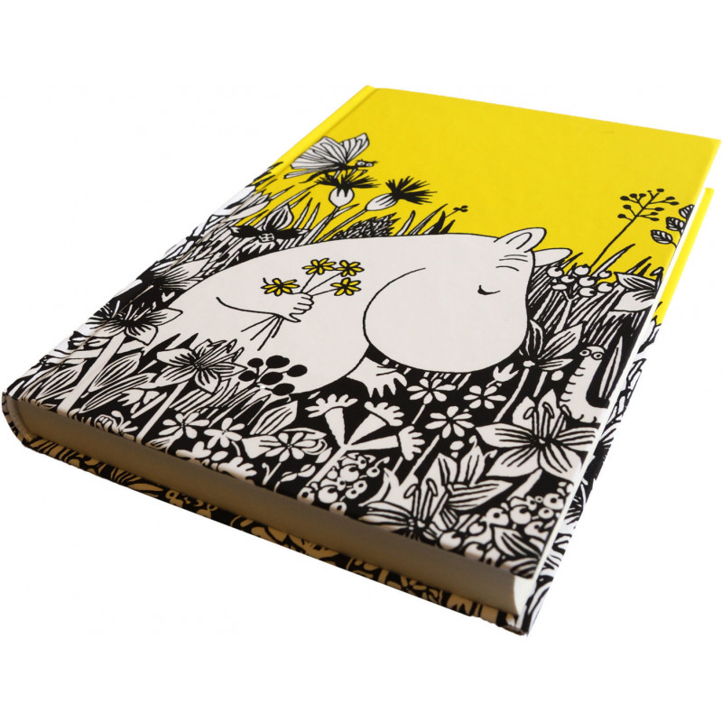 Moomin Hardcover Notebook Moomintroll 224 Lined Pages