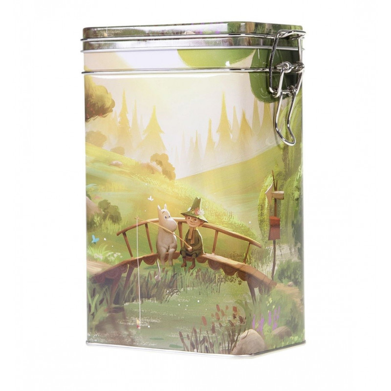 Moomin Coffee Tea Tin Box Animation Summer L