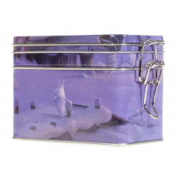 Moomin Coffee Tea Tin Box Animation Winter S