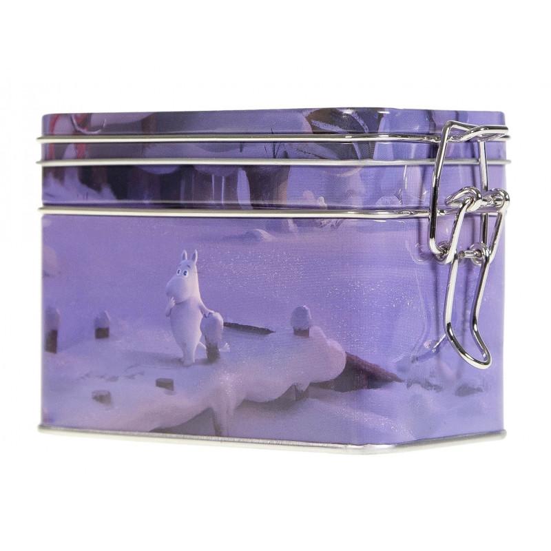 Moomin Coffee Tea Tin Box Animated Film Winter M