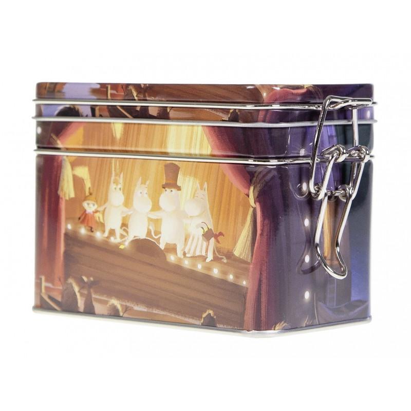 Moomin Coffee Tea Tin Box Animated Film Theater M