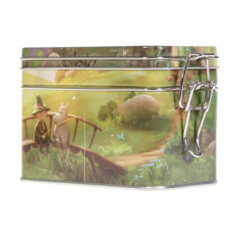 Moomin Coffee Tea Tin Box Animation Summer S