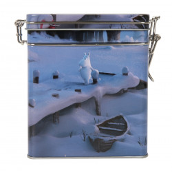 Moomin Coffee Tea Tin Box Animation Winter M