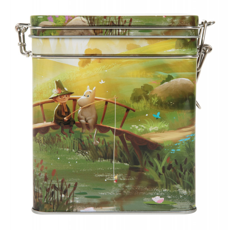 Moomin Coffee Tea Tin Box Animation Summer M