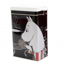 Moomin Tin Can Coffee Moominmamma Black