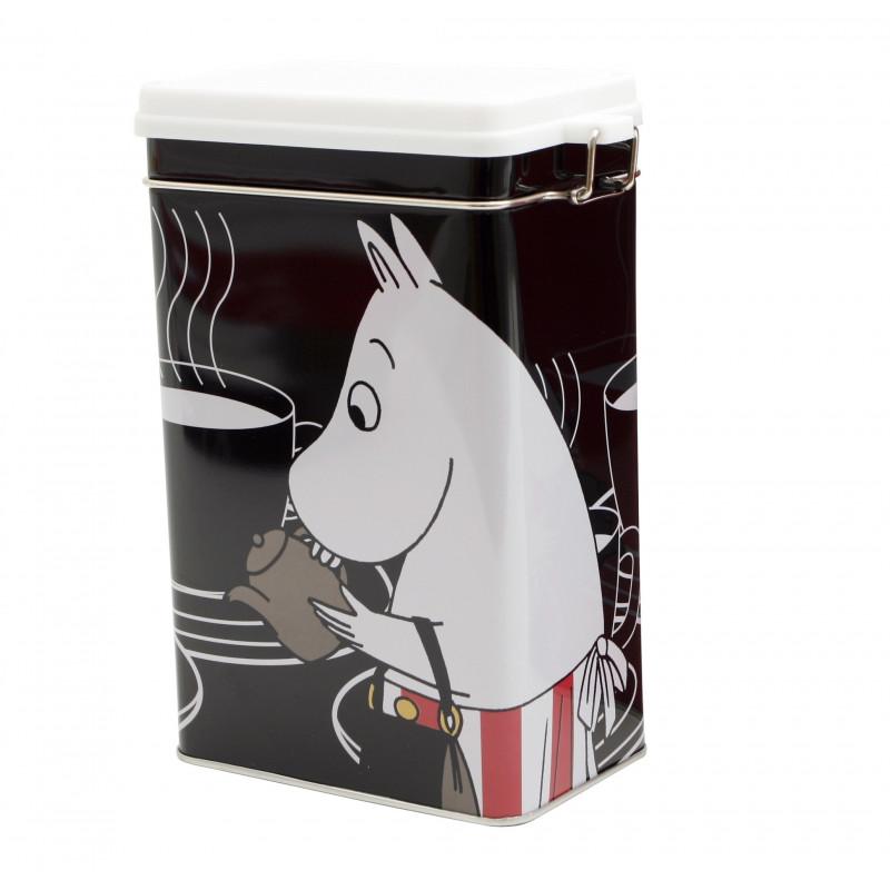Moomin Tin Can Coffee Moominmamma Black