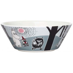 Moomin Bowl 15 cm Moomin New Adventure Move Muutto Arabia Finland
