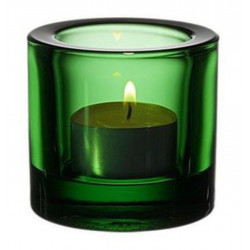 Kivi Votive Candle Holder Green 60 mm Iittala