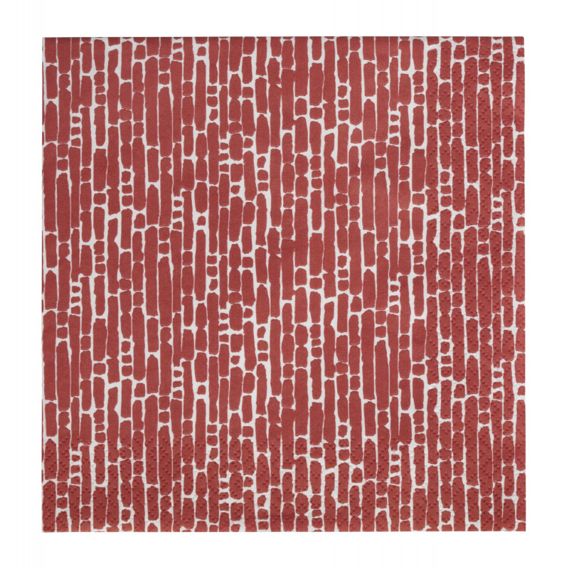 Ultima Thule Paper Napkins Red 33 cm