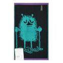 Moomin Terry Towel Stinky Skiing Blue-green 30 x 50 cm Finlayson