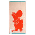 Moomin Terry Towel Snorkmaiden Orange 70 x 140 cm Finlayson