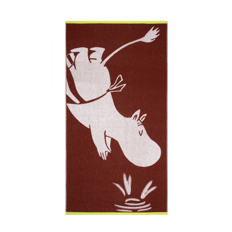 Moomin Bath Towel Moominmamma Diving 70 x 140 cm Finlayson