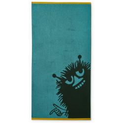 Moomin Bath Towel Stinky Petrol 70 x 140 cm Finlayson