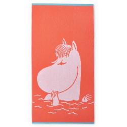 Moomn Bath Towel Snorkmaiden Coral 70 x 140 cm Fnlayson