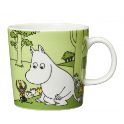 Moomin Mug 0.3 L Moomintroll and the Martian Grass Green