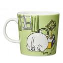 Moomin Mug 0.3 L Moomintroll and the Martian Grass Green