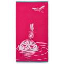 Moomin Bath Towel Little My Pink 70 x 140 cm Finlayson