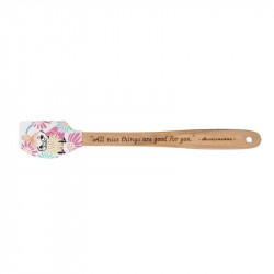 Moomin Garden Mini Spatula Silicone Wooden Handle