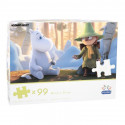 Moomin Animation Puzzle 99 pcs 48 x 34 cm