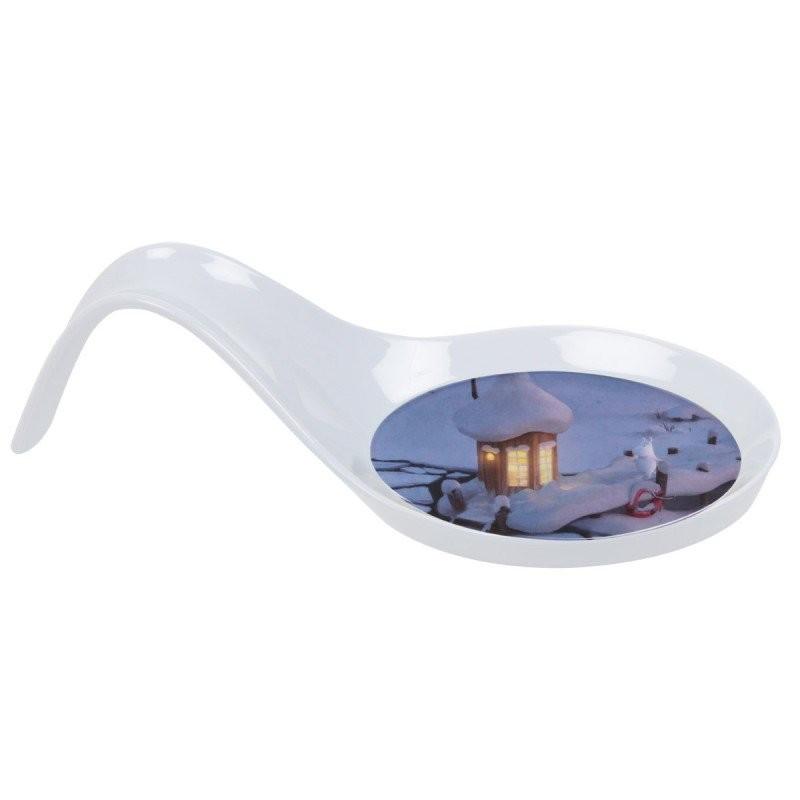Moomin Melamine Spoon Rest Animation Winter Bath House