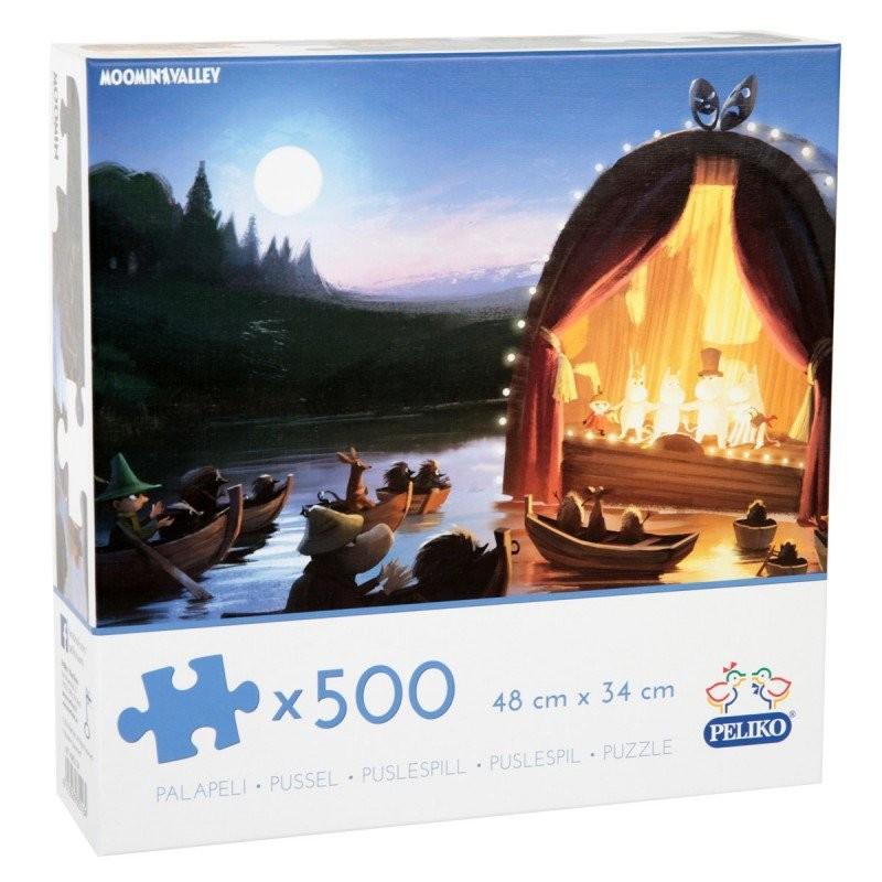 Moomin Puzzle Animation 500 pcs 48 x 34 cm
