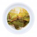 Moomin Animation Teabags Melamine Plate Summer Bridge