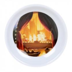 Moomin Animation Teabags Melamine Plate Theater