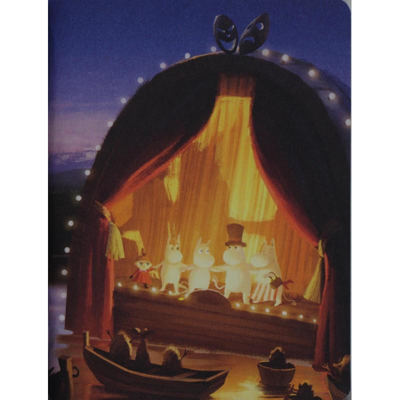 Moomin Animation Summer Theater Small Notebook 9 x 12 cm Putinki