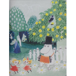 Moomin Small Notebook Moominvalley Party 9 x 12 cm Putinki