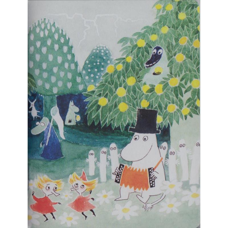 Moomin Small Notebook Moominvalley Party 9 x 12 cm Putinki