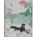 Moomin Small Notebook Magicians Hat 9 x 12 cm Putinki