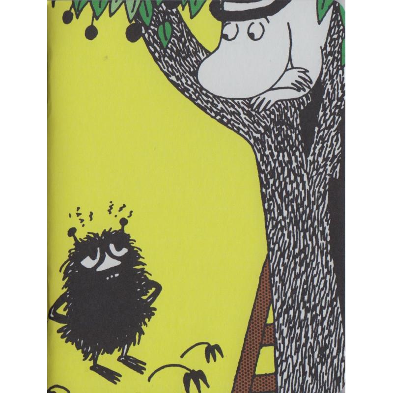 Moomin Small Notebook Stinky and Moominpappa 9 x 12 cm Putinki