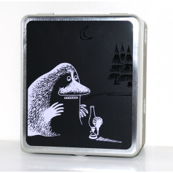 Moomin Tin Can for Tea Bags Groke Martinex