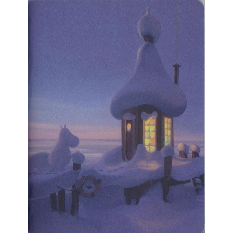 Moomin Animation Snow Bridge Small Notebook 9 x 12 cm Putinki