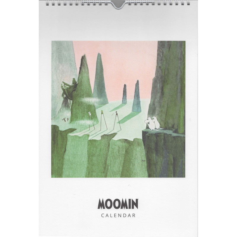 Moomin Yearless Wall Calendar 23 x 34 cm Putinki