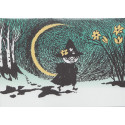 Moomin Greeting Card with Envelope Crescent Putinki