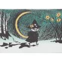 Moomin Greeting Card with Envelope Crescent Putinki
