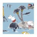 Moomin Paper Napkins Treasure Island 20 pcs 24 cm