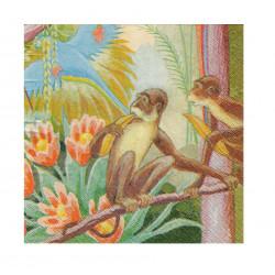 Finlayson Paper Napkins Parrot Lemon Yellow 20 pcs 24 cm