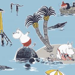 Moomin Paper Napkins Treasure Island 20 pcs 33 cm