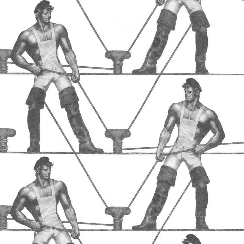 Finlayson Paper Napkins Tom of Finland Ropes 20 pcs 33 cm