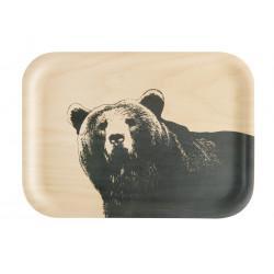 Muurla Nordic Tray 27 X 20 cm Bear