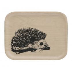 Muurla Nordic Tray 27 X 20 cm Hedgehog