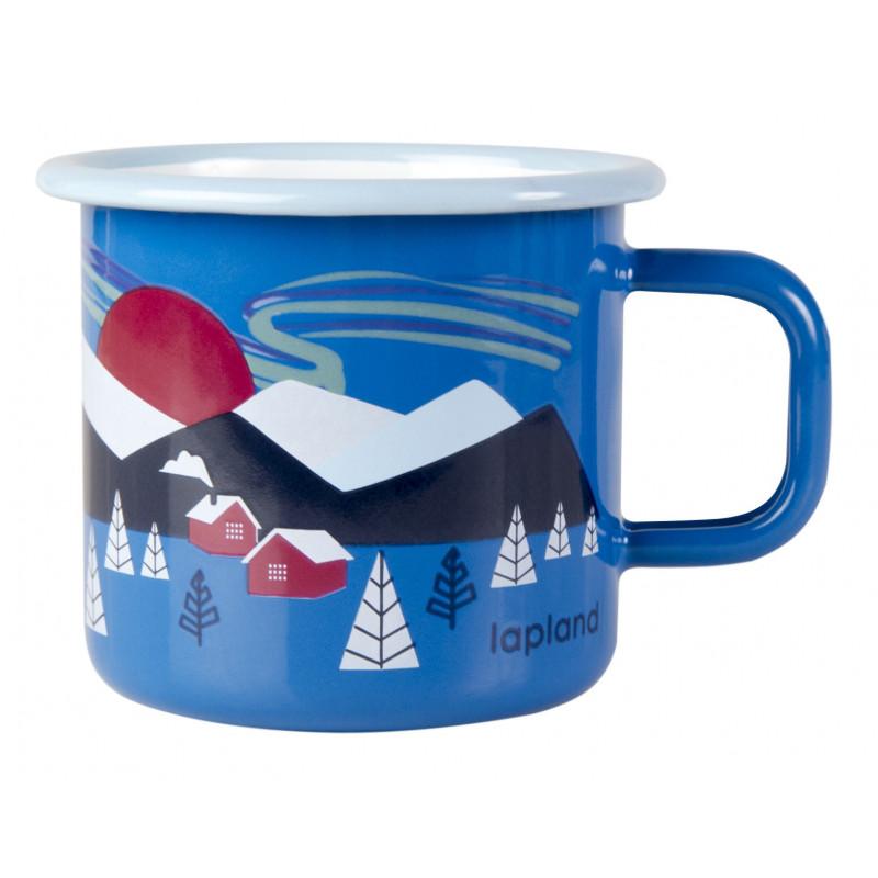Muurla Enamel Mug Lapland 0.37 L