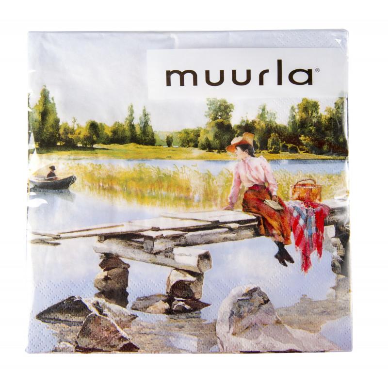 Muurla Paper Napkins Summer 33X33 cm