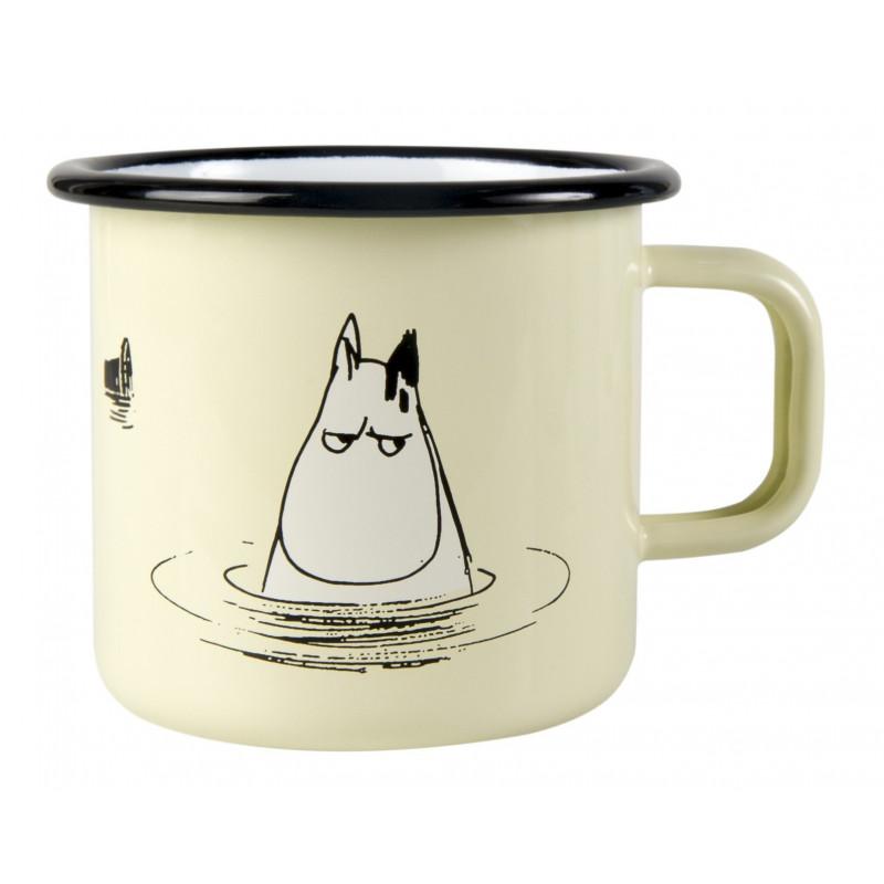 Moomin Makia Enamel Mug Bath 0.37 L